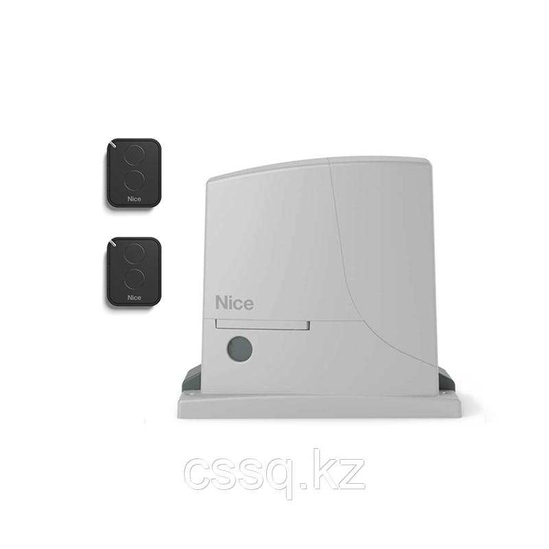 NICE ROX600KLT Комплект для откатных ворот до 600 кг, 230В + 2 брелока FLO2R-E