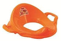 DUNYA Накладка на унитаз (адаптер) с ручками Желтый/Оранжевый в ассортименте