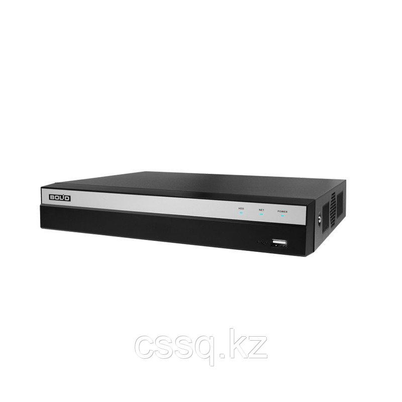 RGI-0812P08 Видеорегистратор сетевой до 8 каналов с PoE