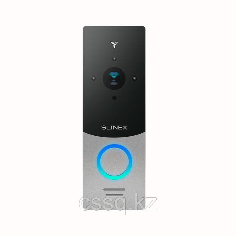 Slinex ML-20CR HD цвет черный + серебро. Вызывная панель высокого разрешения 2,0 Мп (AHD) / 960 ТВЛ