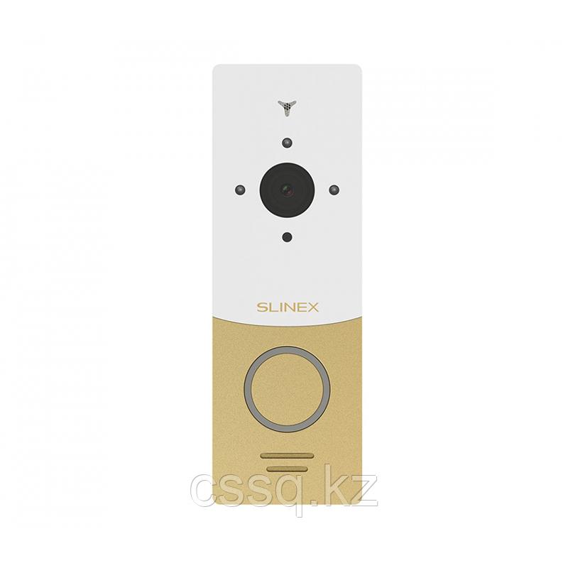 Slinex ML-20IP цвет золото + белый. IP видеопанель, с переадресацией вызова на смартфон