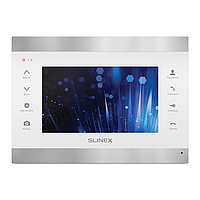 """Slinex SL-07IP цвет серебро + белый. 7"""" Домофон с переадресацией вызова на смартфон"""