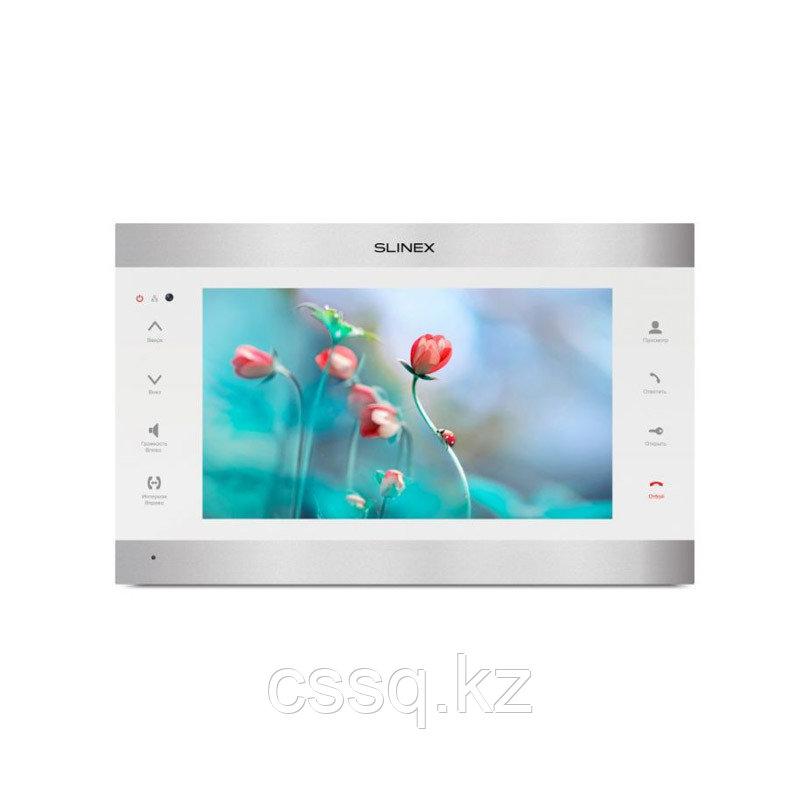 """Slinex SL-10IPT V2 AHD серебро + черный 10"""" Домофон с сенсорным экраном и переадресацией на смартфон"""