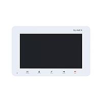 """Slinex SM-07M цвет белый. 7"""" Компактный видеодомофон с функцией памяти"""