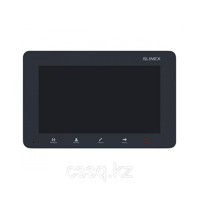 """Slinex SM-07M цвет графит. 7"""" Компактный видеодомофон с функцией памяти"""