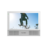 """Slinex Sonik-7 цвет белый. 7"""" AHD Домофон с сенсорным экраном, стерео динамиками и сменными панелями, фото 1"""
