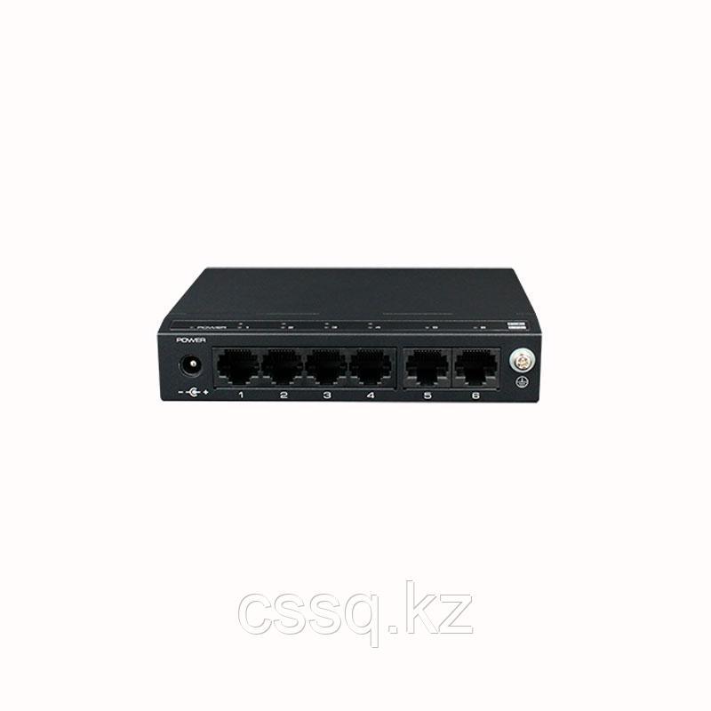 UTEPO SF6P-FHM Коммутатор 6-портовый неуправляемый, РоЕ