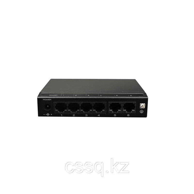 UTEPO SF6P-HM Коммутатор 6-портовый неуправляемый, РоЕ