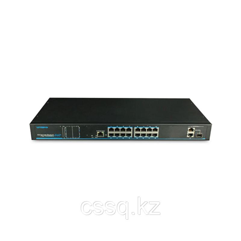 UTEPO UTP1-SW16-TP300 Коммутатор 16-портовый неуправляемый PoE