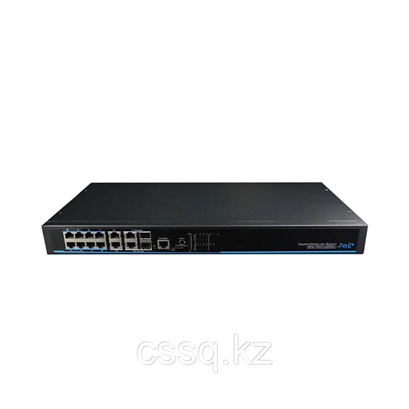 UTEPO UTP3-GSW0806-TP150 Коммутатор 8-портовый управляемый PoE+ 2 комбопорта