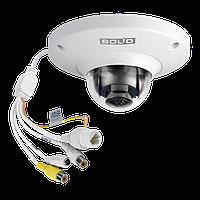VCI-252-05 Купольная сетевая антивандальная видеокамера, цветная, 5Мп, объектив 1,4мм
