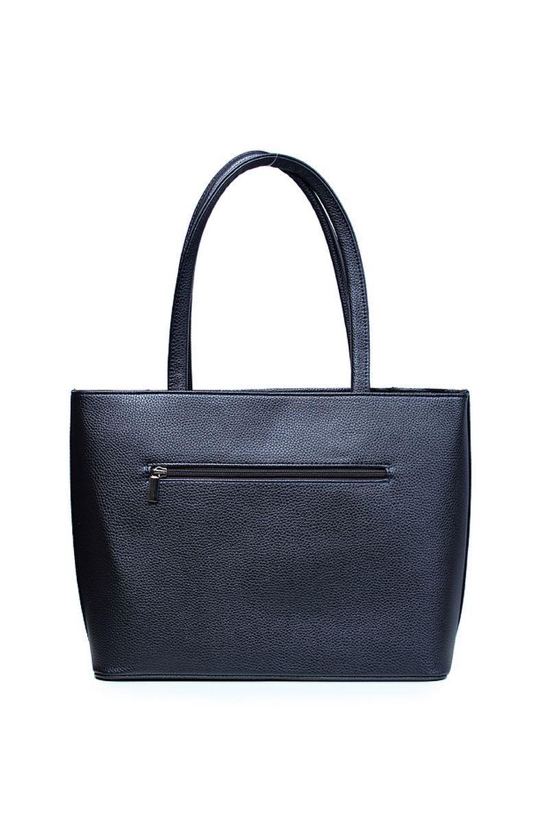 Женская осенняя кожаная синяя сумка Galanteya 2420.0с1295к45 синий_т. без размерар. - фото 3