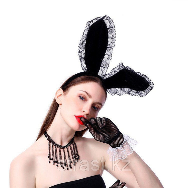 Ободок с ушками кролика