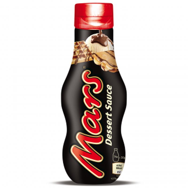 Mars Dessert Sauce Шоколадный соус Марс топинг 300мл (Англия)