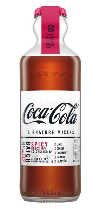 Газ. напиток Coca-Cola Spicy Спайси стеклянная бутылка 200ml (12шт-упак) /Франция/