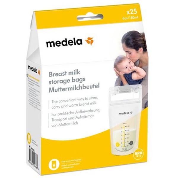 Медела Пакеты для сбора и хранения молока №25