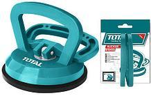 Стеклодомкрат одинарный 115мм, мах вес 25кг. TOTAL арт.TSP01251