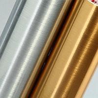 Металлизированная пленка царапанное серебро (1м х 1м)