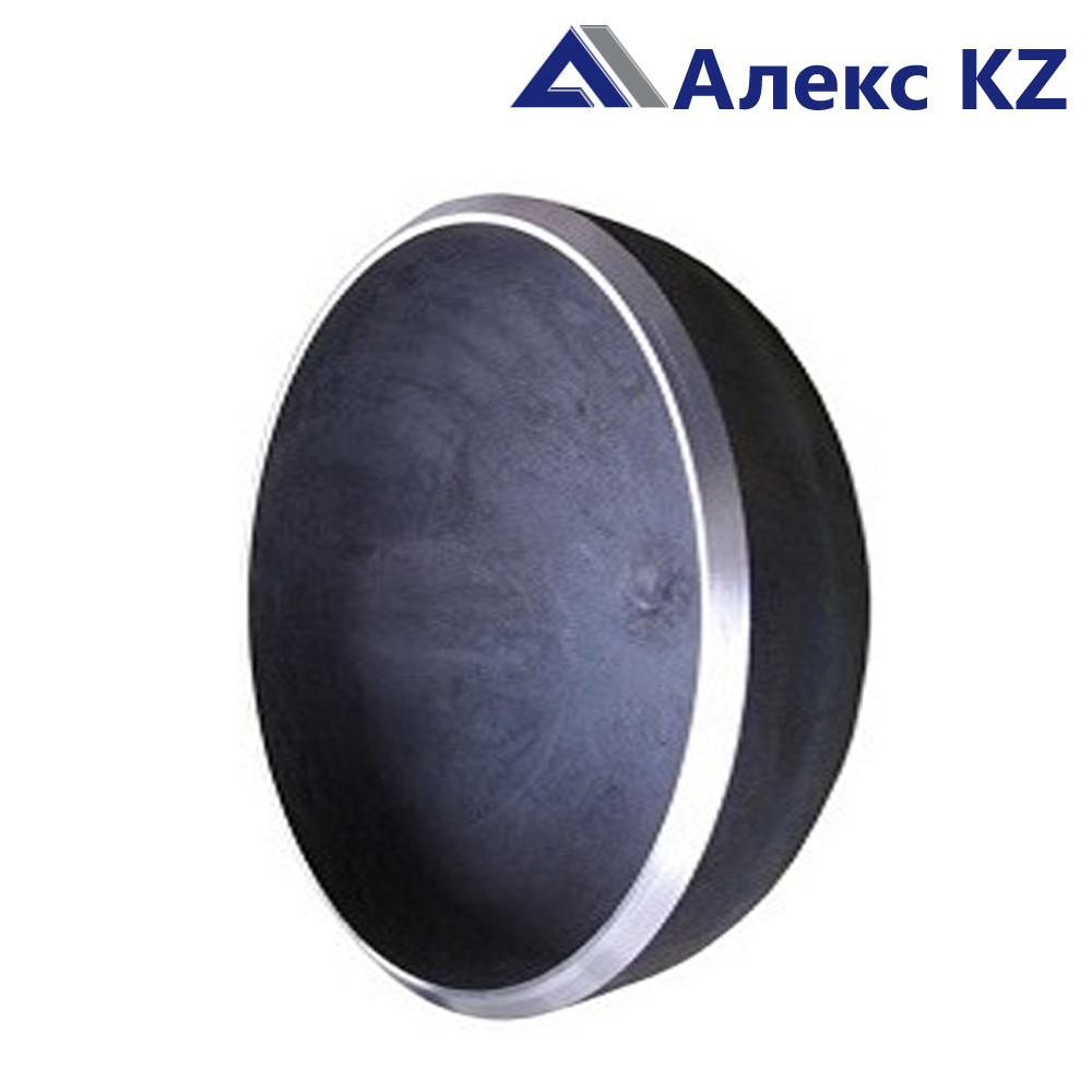 Заглушка сталь ДУ 32 эллиптическая привар.(38*3)
