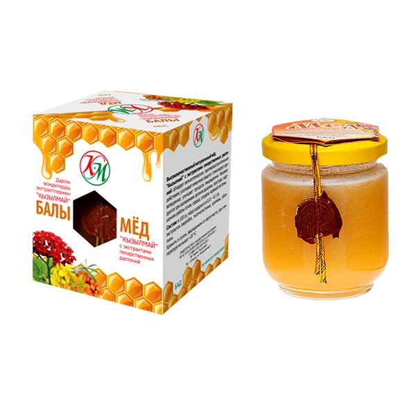 Мед кызыл май с экс лек раст 225 г