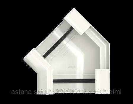 Угол желоба 135° Макси ТН ПВХ, белый