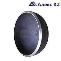 Заглушка сталь ДУ 80 эллиптическая привар.(89*3,5)