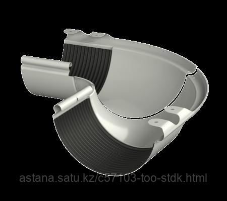 Внешний угол регулируемый  желоба 100-165°, белый