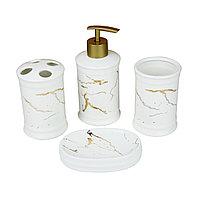Керамический набор для ванной комнаты GL9012W Белый