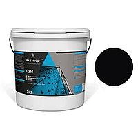 АКВАФОРН-ГЭМ – Акриловая грунт-эмаль для металла на водной основе (3 кг) RAL 9005
