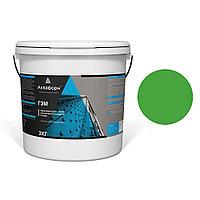 АКВАФОРН-ГЭМ – Акриловая грунт-эмаль для металла на водной основе (3 кг) RAL 6018