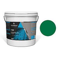 АКВАФОРН-ГЭМ – Акриловая грунт-эмаль для металла на водной основе (3 кг) RAL 6029
