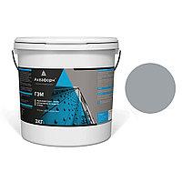 АКВАФОРН-ГЭМ – Акриловая грунт-эмаль для металла на водной основе (3 кг) RAL 7040
