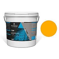 АКВАФОРН-ГЭМ – Акриловая грунт-эмаль для металла на водной основе (3 кг) RAL 1028