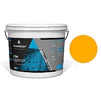 АКВАФОРН-ГЭМ – Акриловая грунт-эмаль для металла на водной основе (10 кг) RAL 1028