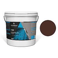 АКВАФОРН-ГЭМ – Акриловая грунт-эмаль для металла на водной основе (3 кг) RAL 8016