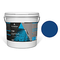АКВАФОРН-ГЭМ – Акриловая грунт-эмаль для металла на водной основе (3 кг) RAL 5010