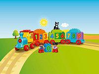 LEGO DUPLO 10847 Поезд: считай и играй, конструктор ЛЕГО