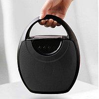 Колонка беспроводная стерео bluetooth-спикер для смартфонов с поддержкой FM-радио RS 417 черная