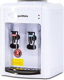 Кулер для воды Aqua Work 0.7-TWR белый-черный