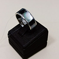 Кольцо (титан / перламутр) 18 р бижутерия (Корея)