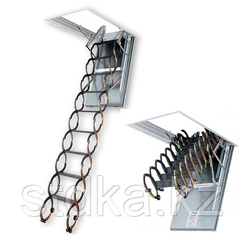 Лестница ножничная металлическая 60*90 LSF-300