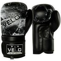 Перчатки боксерские VELO  из кожы, черный цвет