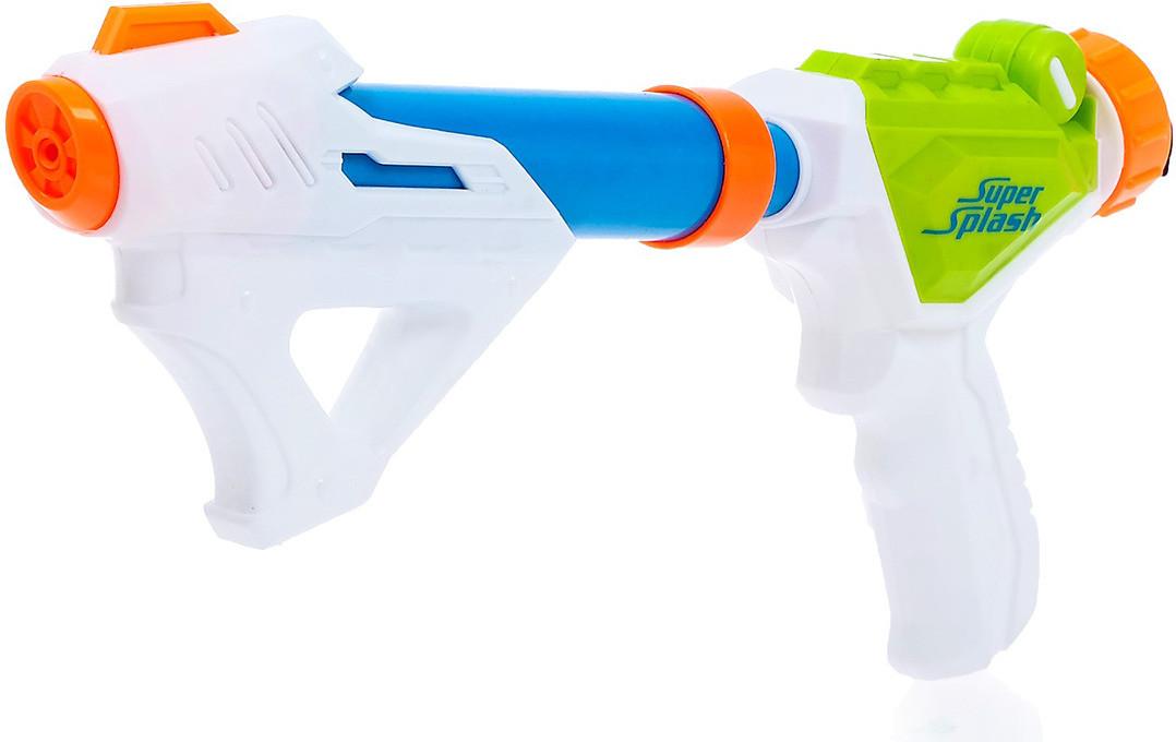 Водный пистолет «Кибер», надевается на пластиковую бутылку (без резервуара)