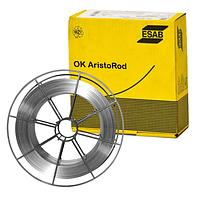 Проволока полированная ESAB ОК Aristorod 12.50 Ø 1.0 мм (каркас кат. 18 кг)