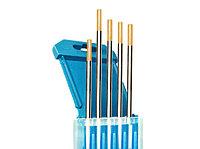 Электроды вольфрамовые КЕДР WL-15-175 Ø 4,0 мм (золотистый) AC/DC