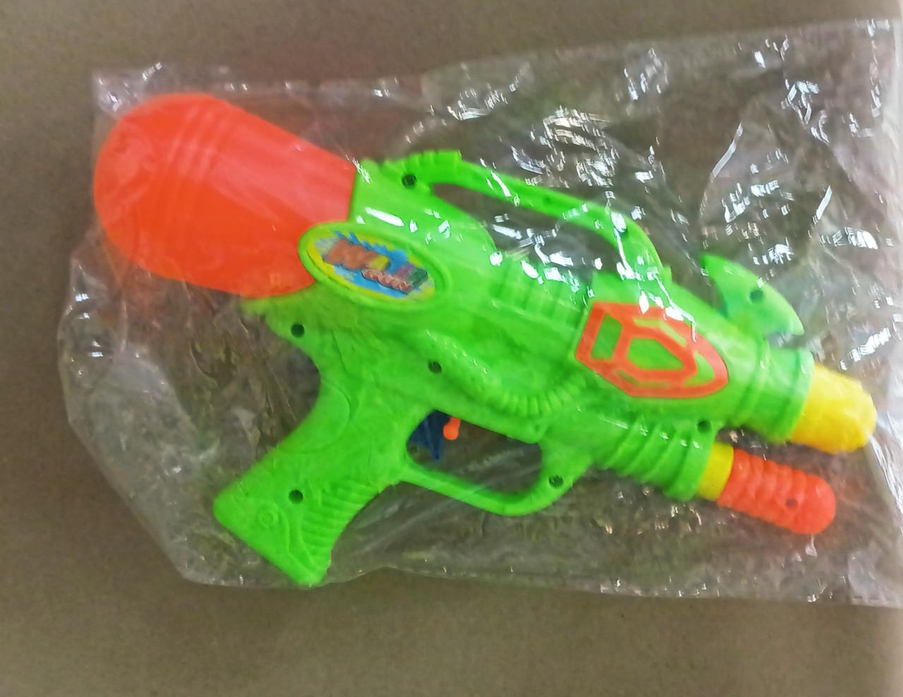 Водный бластер - пистолет с помпой, 150 мл.