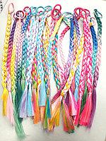 Косички цветные из искусственных волос