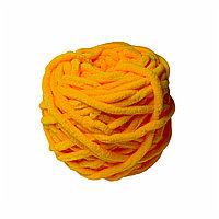 Велюровая пряжа для ручного вязания, толщиной 0,8 мм подсолнечник