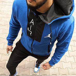 """Спортивный костюм Jordan """"Black\Blue"""", фото 2"""