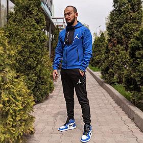 """Спортивный костюм Jordan """"Black\Blue"""""""